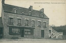 50 URVILLE NACQUEVILLE / Restaurant Jules Lohier / - Altri Comuni
