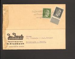 Fernpostkarte Mit 1 U.5 Pfg. Hitler Mi.Nr.781 U.784 V.23.7.42 V. M.Gladbach Nach Metzingen 2 Bilder - Deutschland