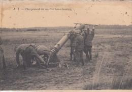 Chargement Du Mortier Lance-bombes - Matériel