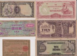 LOTTO BANCONOTE OCCUPAZIONI GIAPPONESI 2GM (A) - Banconote
