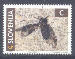 Slowenien Slovenia Slovenie 2002 Used; Fossiles Insect - Slovenia