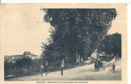 AQUITAINE - 24 - DORDOGNE - BELVES - Bd Et Promenade La Brèche - France