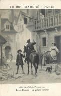 SALON 1912 LOUIS BAADER LE GALANT CAVALIER / 2 AU BON MARCHE - Peintures & Tableaux