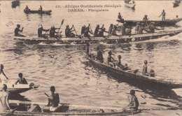 DAKAR (Senegal) - Piroguiers, Gel.191?, Abgel.Marken - Senegal