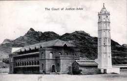 ADEN (Jemen) - The Court Of Justice, 1910? - Jemen