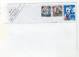 Jan16   72925    Lettre  Cachet Roma   2014 - Affrancature Meccaniche Rosse (EMA)