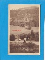 CPA Photo  -   HAUT Du THEM    Août 1913  -  Famille LANG En Ballade - France