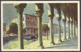 VENEZIA  -- Canal Grande - Palzzo Vendramin  (1943 Anno XXI) - Venezia (Venice)