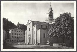 Santuario Della B.V. Di Caravaggio In Montagna Di Pinè M. 881 -- Animata E Con Albergo Alla Corona - Bottega RICORDI - Trento