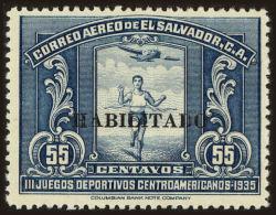 Salvador, El Scott #C44, 1935, Hinged - El Salvador