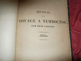 Bibliophile     Altlas Caillé/temboctou - Books, Magazines, Comics