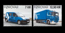 Faroe Islands 2013 Mih. 781/82 Europa-Cept. Postal Vehicles MNH ** - Faeroër
