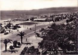 CARTOLINA  MARINA DI MASSA - LUNGOMARE    VIAGGIATA 1957 - Massa