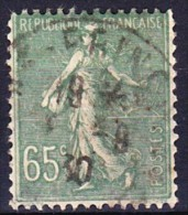 FRANCE TYPE SEMEUSE LIGNEE 1927 YT N° 234 Obl. - 1903-60 Sower - Ligned