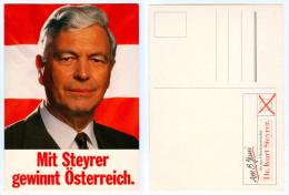 AK Österreich Politik Kurt Steyrer SPÖ Bundespräsidenten-Wahl 1986 Minister OÖ Linz Gesundheitsminister Umweltschutzmin - Persönlichkeiten