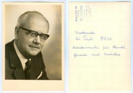 AK Österreich Politiker Fritz Bock ÖVP Vizekanzler Handelsminister Wien Hernals Vice Chancellor Austria Politik Autriche - Persönlichkeiten
