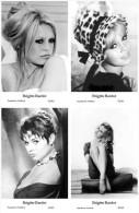 BRIGITTE BARDOT - Film Star Pin Up - Publisher Swiftsure Postcards 2000 SET 765-68 - Entertainers