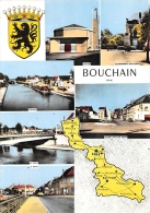 NORD  59  BOUCHAIN  VUES MULTIPLES  DEPARTEMENT DESSINE - Bouchain