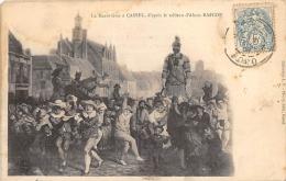 NORD  59  CASSEL  LE MARDI GRAS, D'APRES LE TABLEAU D'ALEXIS BAFCOP - Cassel