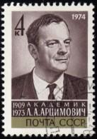 RUSSIA - Scott #4157 L. A. Artsimovich (1909-1973) / Used Stamp - 1923-1991 URSS