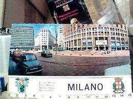 MILANO PIAZZA MISSORI AUTO CAR FIAT 500 MINI MINOR COOPER  VB1969 FE8043 - Milano (Milan)