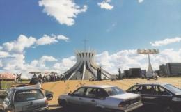Brazil - The Metropolitan Cathedral, Brasilia, China's Postcard - Brasilia