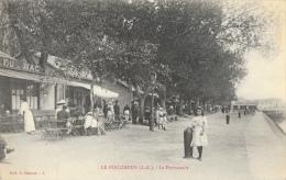 Le Pouliguen (Loire-Inférieure) - La Promenade - Café Du Bac - Collection O. Pomme - Carte Non Circulée - Le Pouliguen