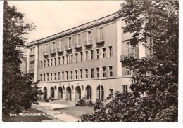 32-222 // DDR - JENA  - PHYSIKALISCHES INSTITUT  - Gelaufen Nach SOFIA  1963 - Jena
