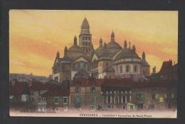 DF / 24 DORDOGNE / PÉRIGUEUX / CATHÉDRALE BYZANTINE DE SAINT-FRONT / CIRCULÉE EN 1917 - Périgueux