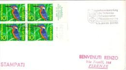 HELVETIA Exposition Pro Natura 21/11/66 (01.16franc0098) - Climbing Birds