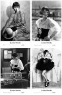 LOUISE BROOKS - Film Star Pin Up - Publisher Swiftsure Postcards 2000 SET 25-28 - Artisti