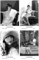 LOUISE BROOKS - Film Star Pin Up - Publisher Swiftsure Postcards 2000 SET 53-56 - Artisti