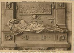 BRUXELLES  GRAND'PLACE  MONUMENT D'EVERARD'T SERCLAES   (NUOVA) - Non Classificati