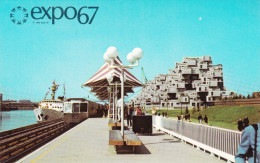 Expo 67 Expo67 World´s Fair - Montreal Canada - Architecture - Habitat 67 - Unused - # EX258 - Montreal