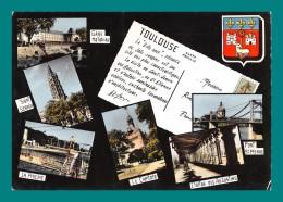31 Toulouse ( Multivues, Gare Matabiau, Le Capitole, Cloitre, Piscine ) - Toulouse