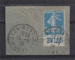 France - Carnets - Pub - Semeuse 25 C Bleu - Y&T N° 140 - EVIAN - Oblitéré - Advertising