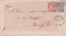 Worms To Firenze, Cover 1871. P.D. In Cartella Rosso. - Deutschland