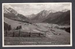 1932 SAN VIGILIO DI MAREBBE PANORAMA E MONTE PARES FP V SEE 2 SCANS ANNULLO MAREBBE - Altre Città
