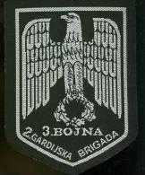 Patch CROATIAN  ARMY   Bosnia  HVO   3.bojna  2. Gardijska Brigada - Patches