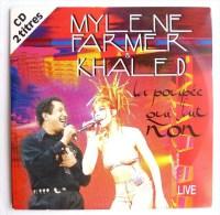 """CD MYLENE FARMER ET KHALED""""LA POUPEE QUI FAIT NON"""" 2 T, OCCASION, TRES BON ETAT - Musique & Instruments"""