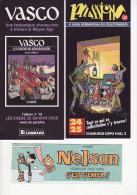 Lot De Collectors Bd - Voie  4 Scans - 06012015 61-65 - Books, Magazines, Comics