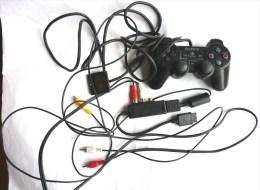 Manette Filaire Sony DualShock 2 Pour Ps2  + Fils - Accessories