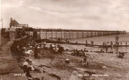 Postcard - Rhos-On-Sea Pier, Conwy. 89296.J.V. - Caernarvonshire