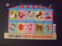 Nederland 2011   MNH Nvph Nr V 2868-2877 100 Jaar Circus Renz - Periode 1980-... (Beatrix)