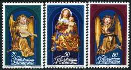 Liechtenstein - Michel 813 / 815 - ** Postfrisch (B) - Weihnachten 82 - Nuevos