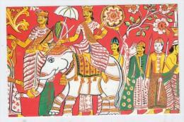 Sri Lanka Ceylon FESTIVAL ELEPHANT POSTCARD 1991 - Elephants