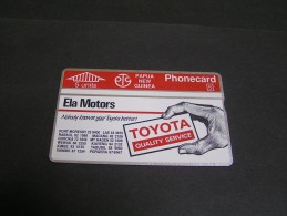PAPUA 1992 5u Toyota I MIND;