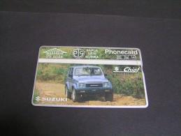 PAPUA 1992 25u Suzuki; - Papua New Guinea