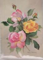 ROSAS - ROSES. NUEVA SIN CIRCULAR. - Flores