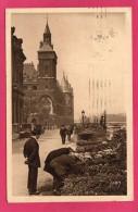 75 PARIS, Marché Aux Fleurs Quai De L'Horloge, Animée, 1929, (Yvon, Paris) - Artigianato Di Parigi